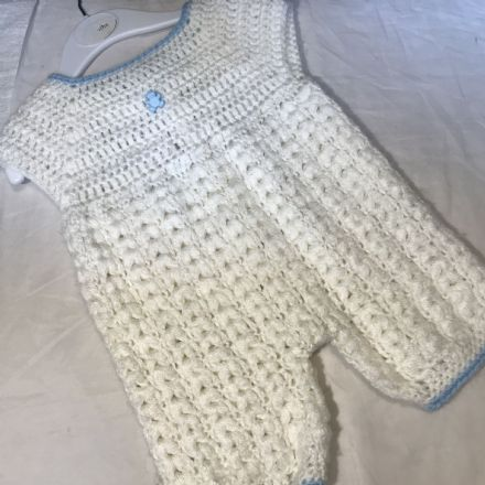 0-3 Month knitted Romper